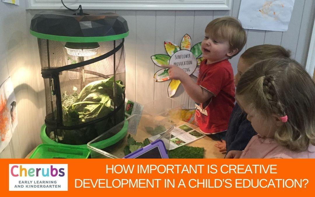 How Important is Creative Development in a Child's Education?